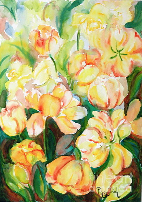Phong Trinh - Tulips Impression 1