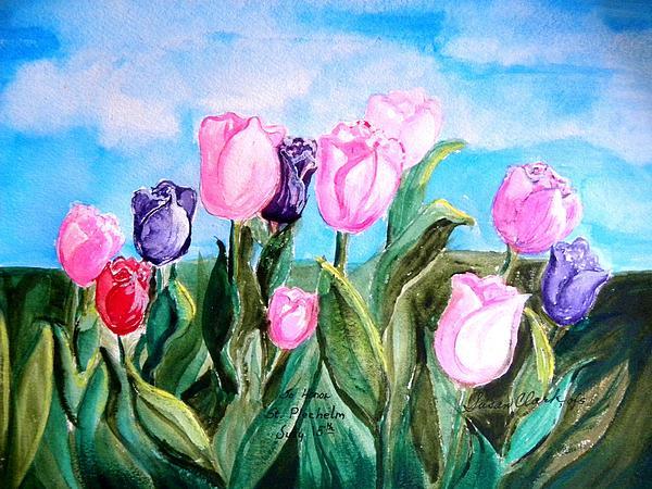 Susan  Clark - Tulips to Honor St. Plechelm