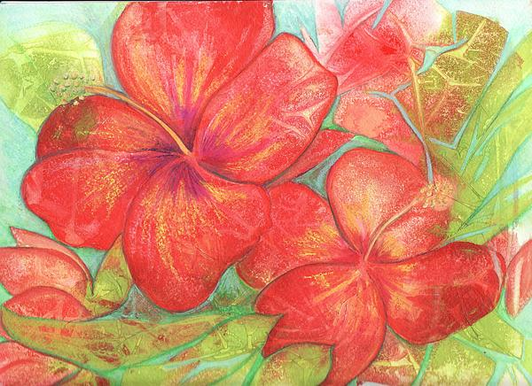 Carla Parris - Two Hibiscus Blossoms
