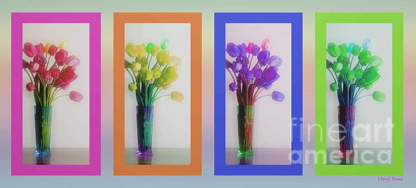 Cheryl Young - Variety Tetraptych