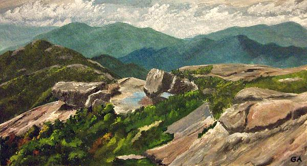 Gary Adams - View from Algonquin Peak