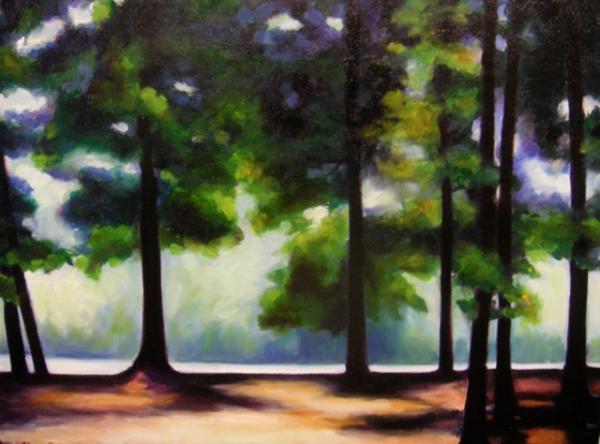Elma Orr - Walk in the Park - Mississippi Landscapes