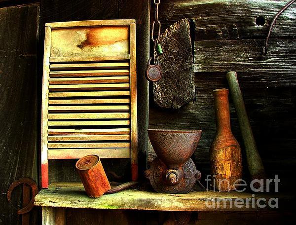 Julie Dant - Washboard Still Life