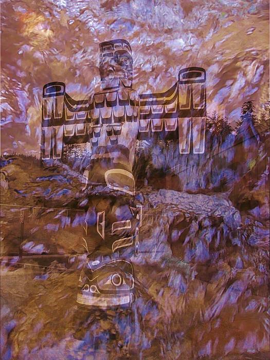 Barbara St Jean - Water Totem