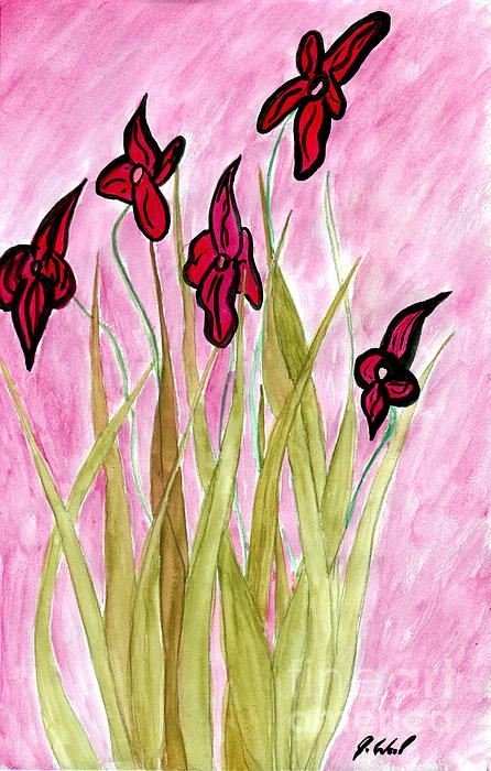 Jeanne Wood - When Flowers Were Tall