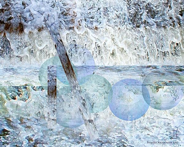 Brigetta  Margarietta - Winter Abstract I