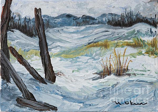 Nicole Okun - Winter Landscape