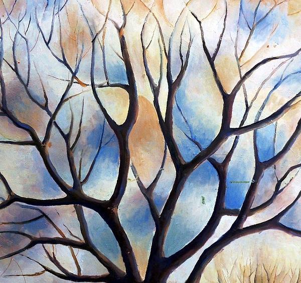 Deliara Yesieva - Winter Tree
