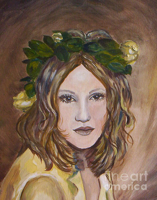 Julie Brugh Riffey - Yellow Rose I I