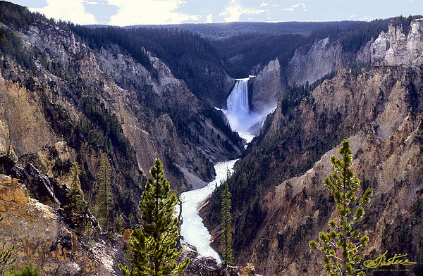 Jim Justice - Yellowstone Falls