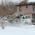 Ohio Snow Plow by R A W M