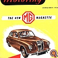 1950s Uk Cars Mg Magnette Covers by The Advertising Archives