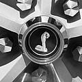 1969 Shelby Gt500 Convertible 428 Cobra Jet Wheel Emblem by Jill Reger