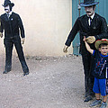 3 Godfathers Homage 1948 Ok Corral Tombstone Arizona  by David Lee Guss