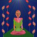 849 - Inner  Balance   by Irmgard Schoendorf Welch