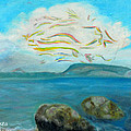 A Cloud Over The Sea by Augusta Stylianou