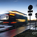 A Guided Bus Cambridgeshire Uk by Julian Eales
