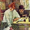 A La Mie by Toulouse Lautrec