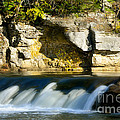 A Quiet Place  Waterfall by Peggy Franz