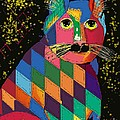 Quilted Cat by Dessie Durham