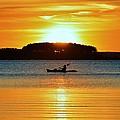 A Reason To Kayak - Summer Sunset by William Bartholomew