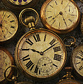 Aged Pocket Watches by Garry Gay