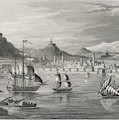 Algiers  Viewed From The Sea by Mary Evans Picture Library