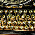Antique Keyboard by Christopher Holmes