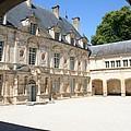 Arch View Palace Bussy Rabutin by Christiane Schulze Art And Photography