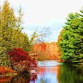 Aspetuck River Easton Ct by Norberto Medina Jr