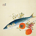 Autumn Fattens Fish And Ripens Wild Fruits by Takeuchi Seiho