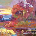 Autumn Light by David Lloyd Glover