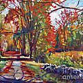Autumn On The Hudson by David Lloyd Glover