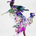 Ballet Watercolor 3 by Naxart Studio