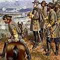 Battle Of Fredericksburg by American School