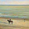 Beach Dialogue Dunwich by Timothy  Easton