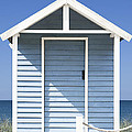 Beach Hut by Gillian Dernie
