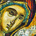 Blessed Virgin Mary - Painting by Daliana Pacuraru