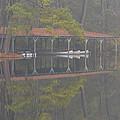 Boat Dock Reflection by Alan Lenk