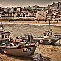Boats At Broadstairs by Dave Godden