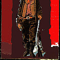 Bogus Drawing Photo Of Billy The Kid Ft. Sumner New Mexico C.1879-2013 by David Lee Guss