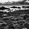 Boulders At Sunrise Marginal Way by Jeff Sinon