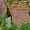 Byzantine Cross In Myra-turkey by Ruth Hager