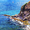 California Coastline  by David Lloyd Glover