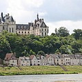 Chateau De Chaumont Stands Above The River Loire by Christiane Schulze Art And Photography