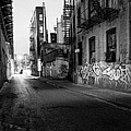 Chinatown New York City - Mechanics Alley by Gary Heller