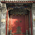 Chinese Door by Alfred Ng
