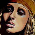 Christina Aguilera Painting by Paul Meijering