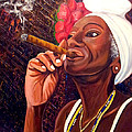 Cigar Lady by Jose Manuel Abraham
