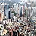 City Of Hong Kong by Joyce Woodhouse